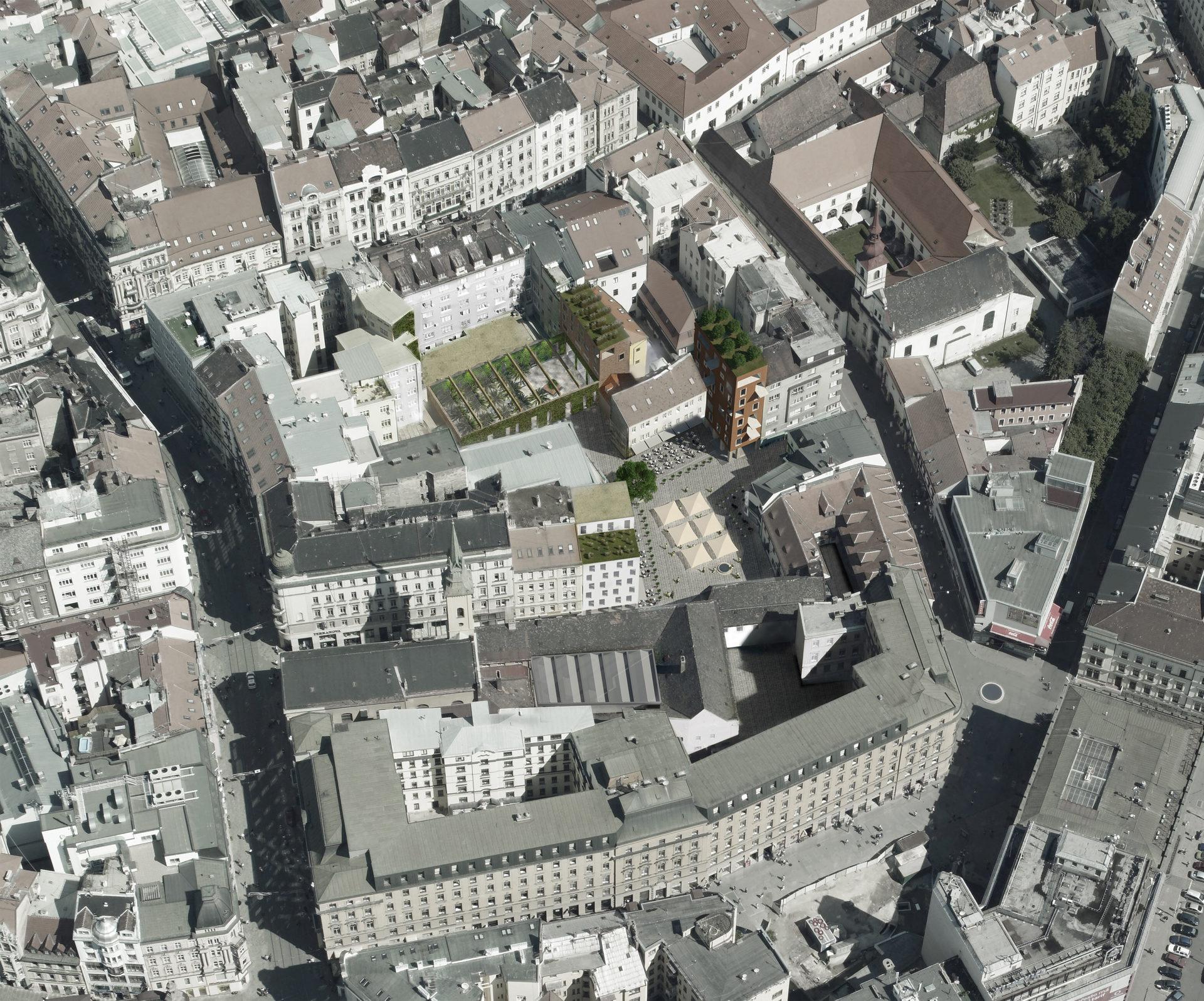 Římské náměstí, Brno