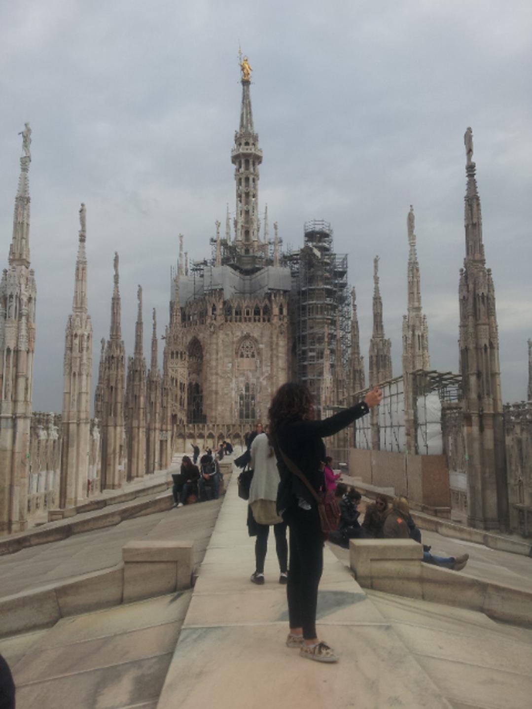 Exkurze do Milána