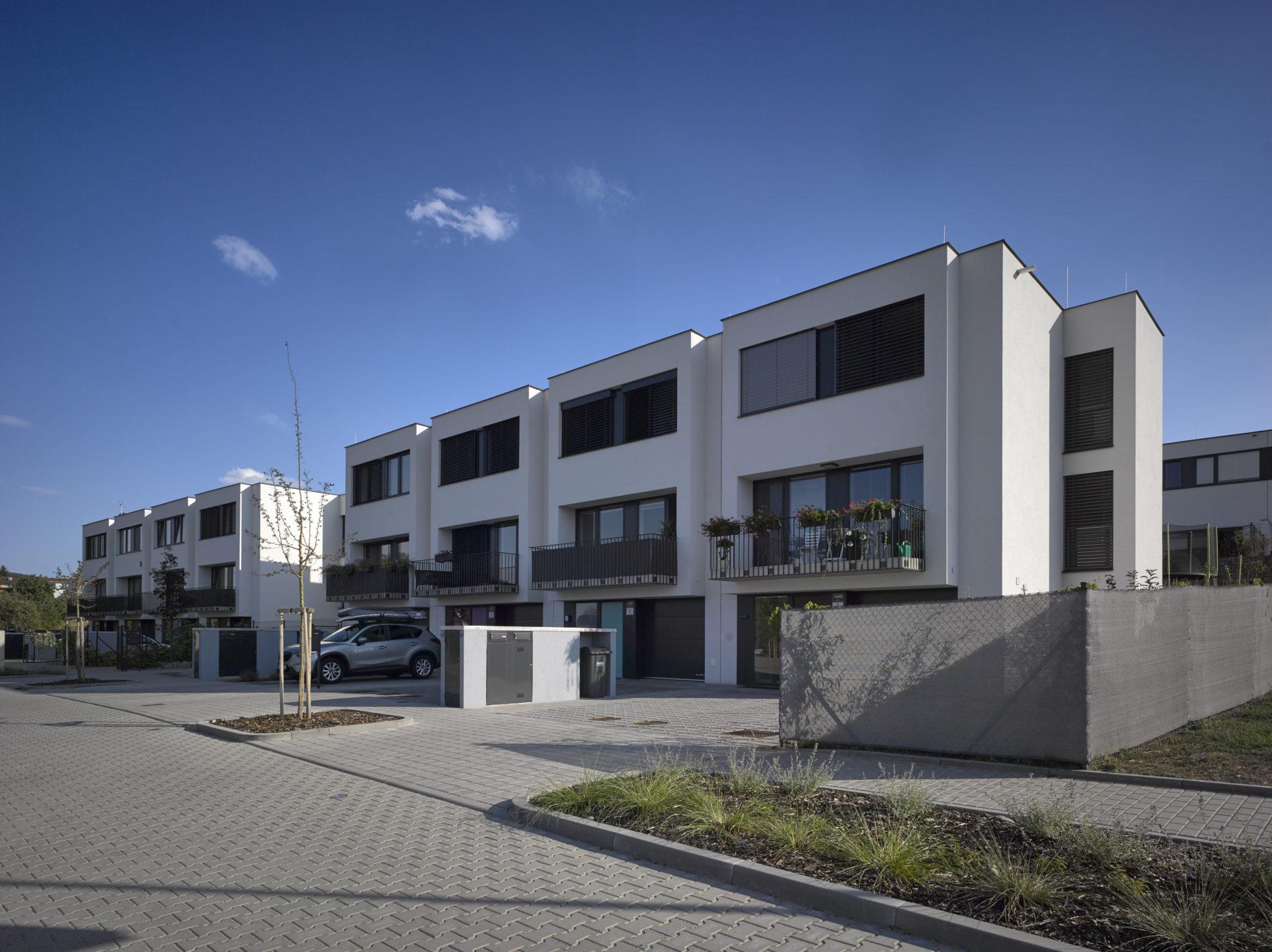Housing Units Panorama, II., Brno