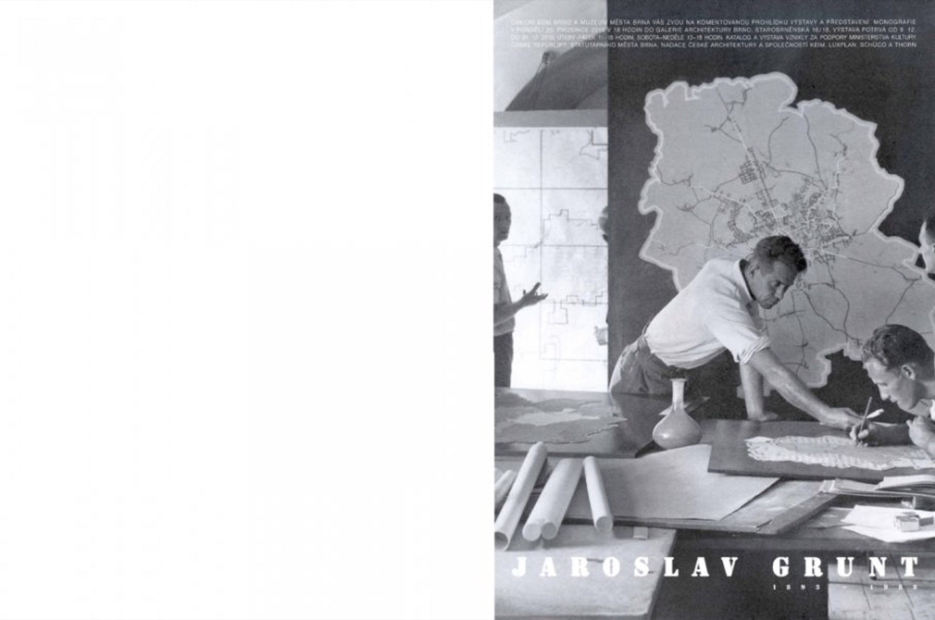 Další zbílých monografií, tentokrát Jaroslav Grunt