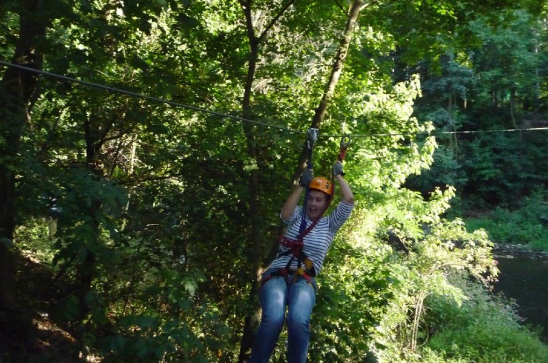 Konec prázdnin vkorunách stromů
