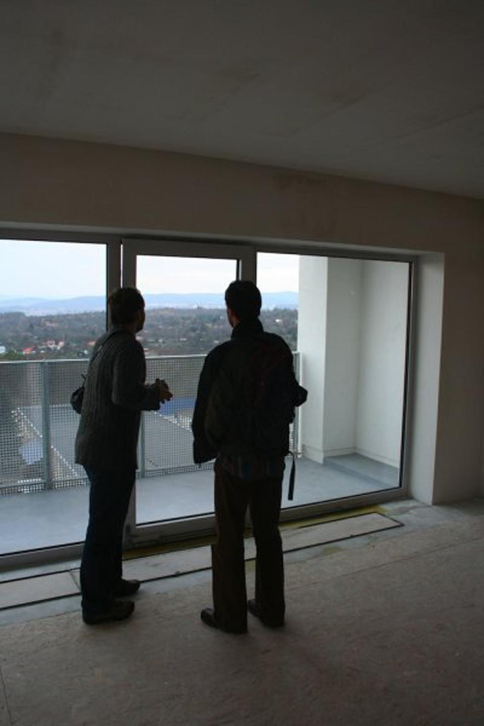 Jaký je výhled zposledního patra?