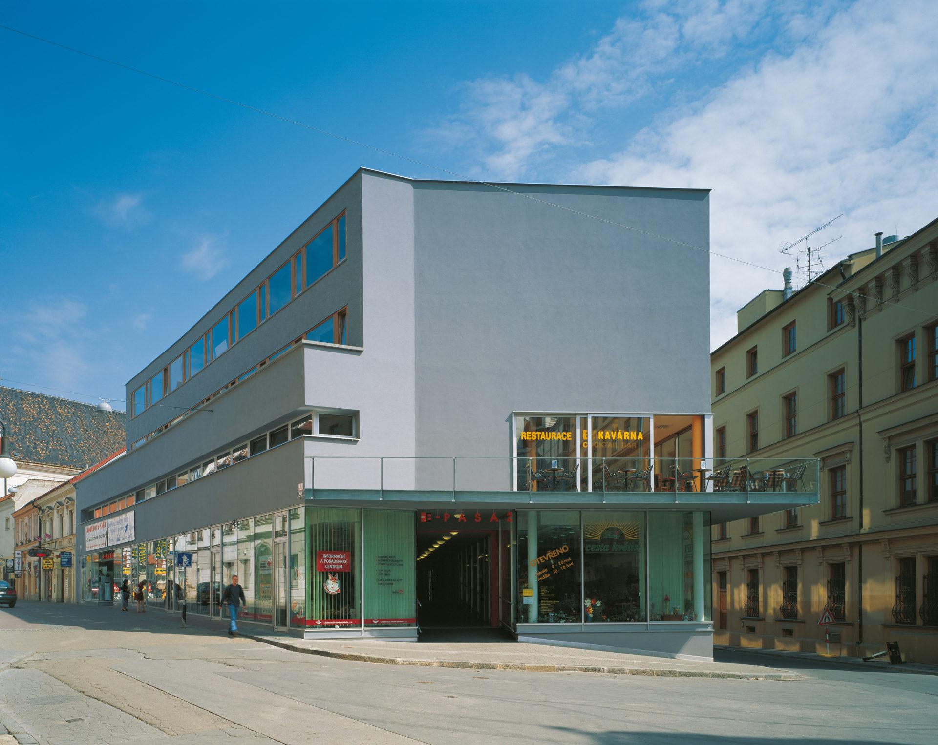 Polyfunkční dům E-pasáž, Brno