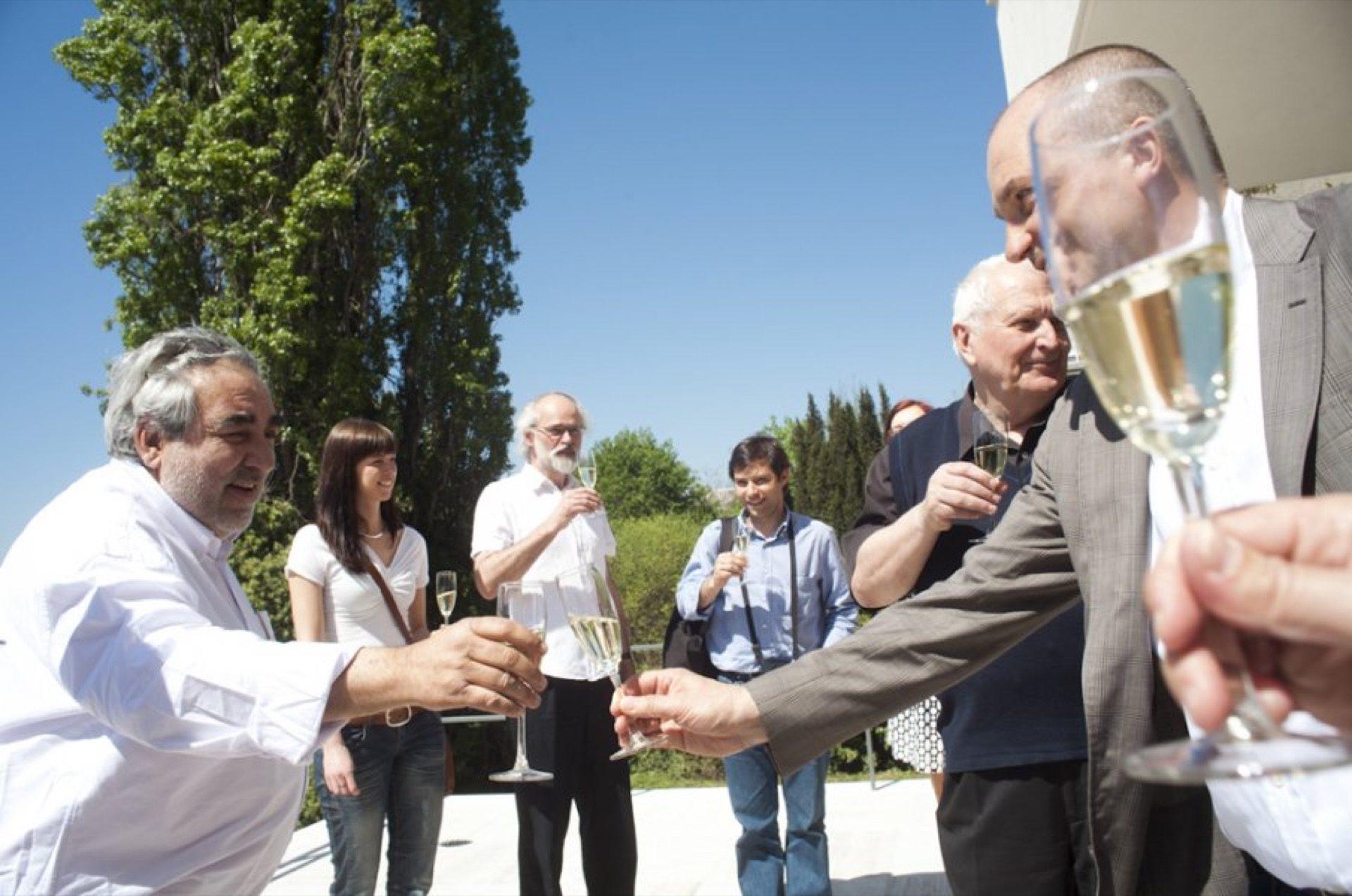 Na skleničku sEduardem Souto de Mourou do Vily Tugendhat aodtud na oběd do Café Era