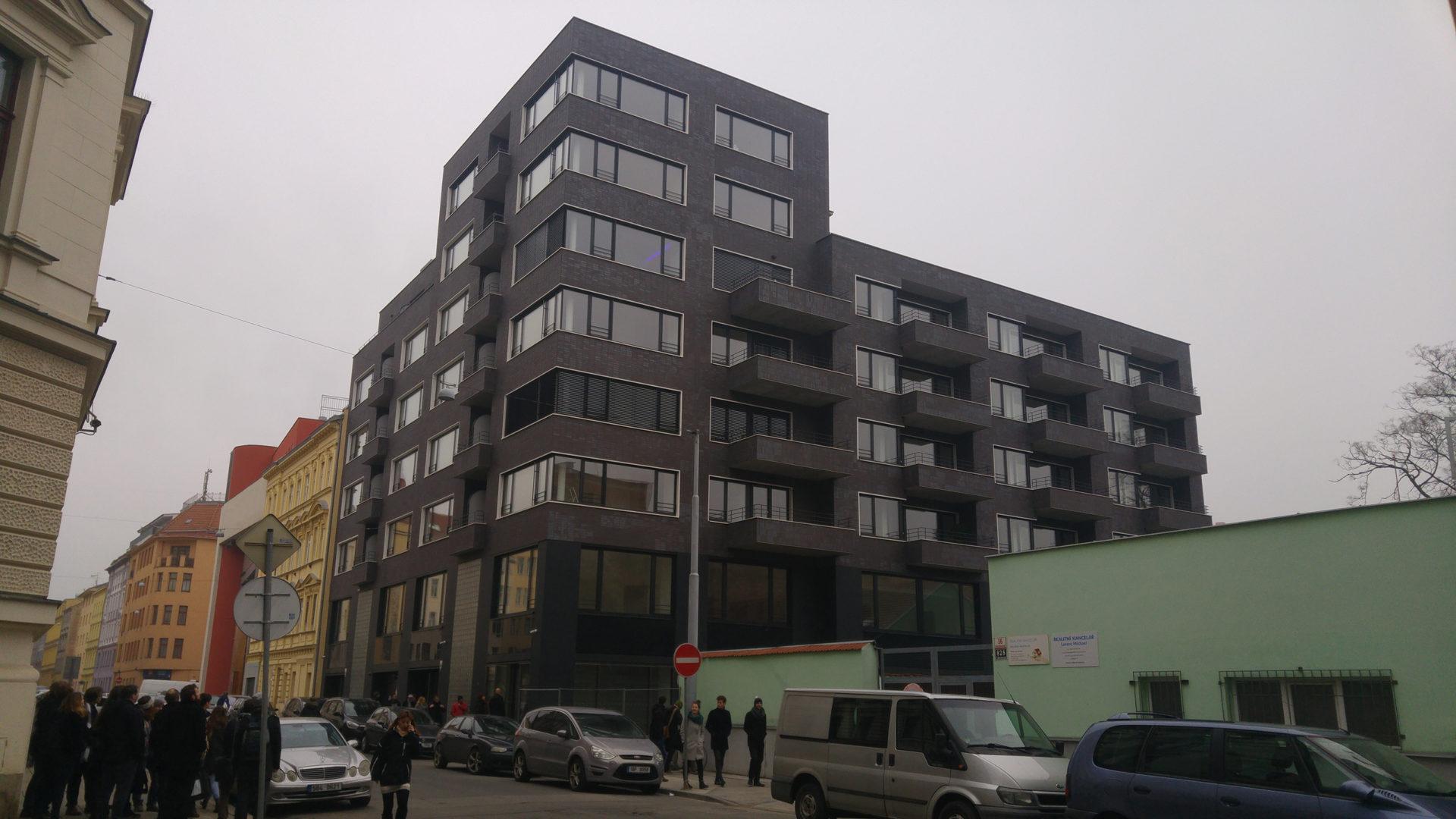 Exkurze – polyfunkční dům Bratislavská, Brno