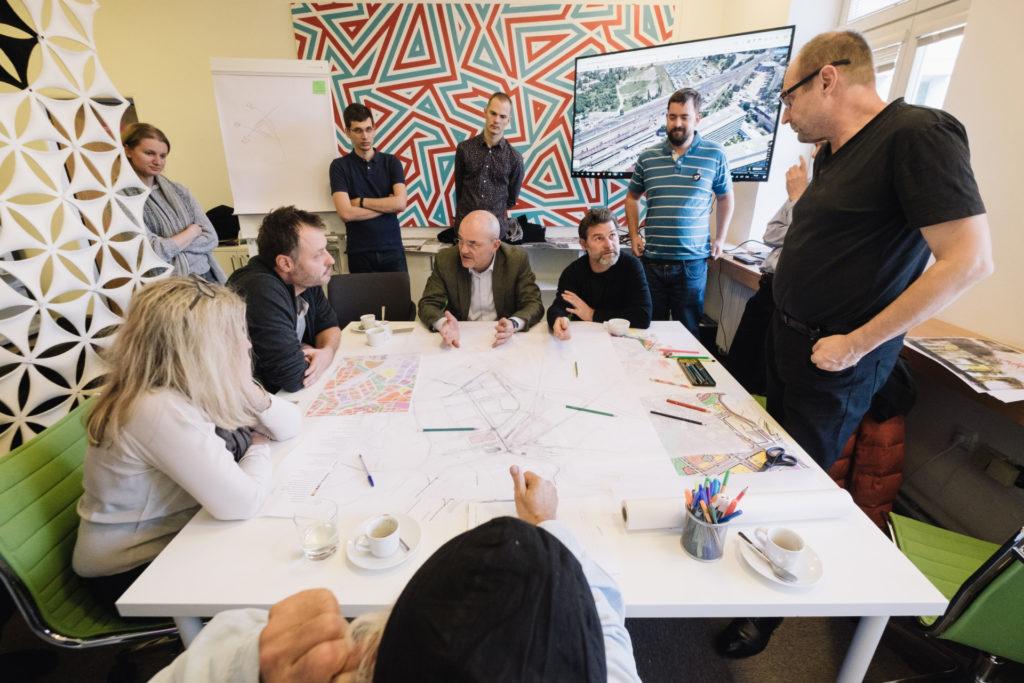 Urbanistický workshop aneb Jak postavit novou Jižní čtvrť vBrně
