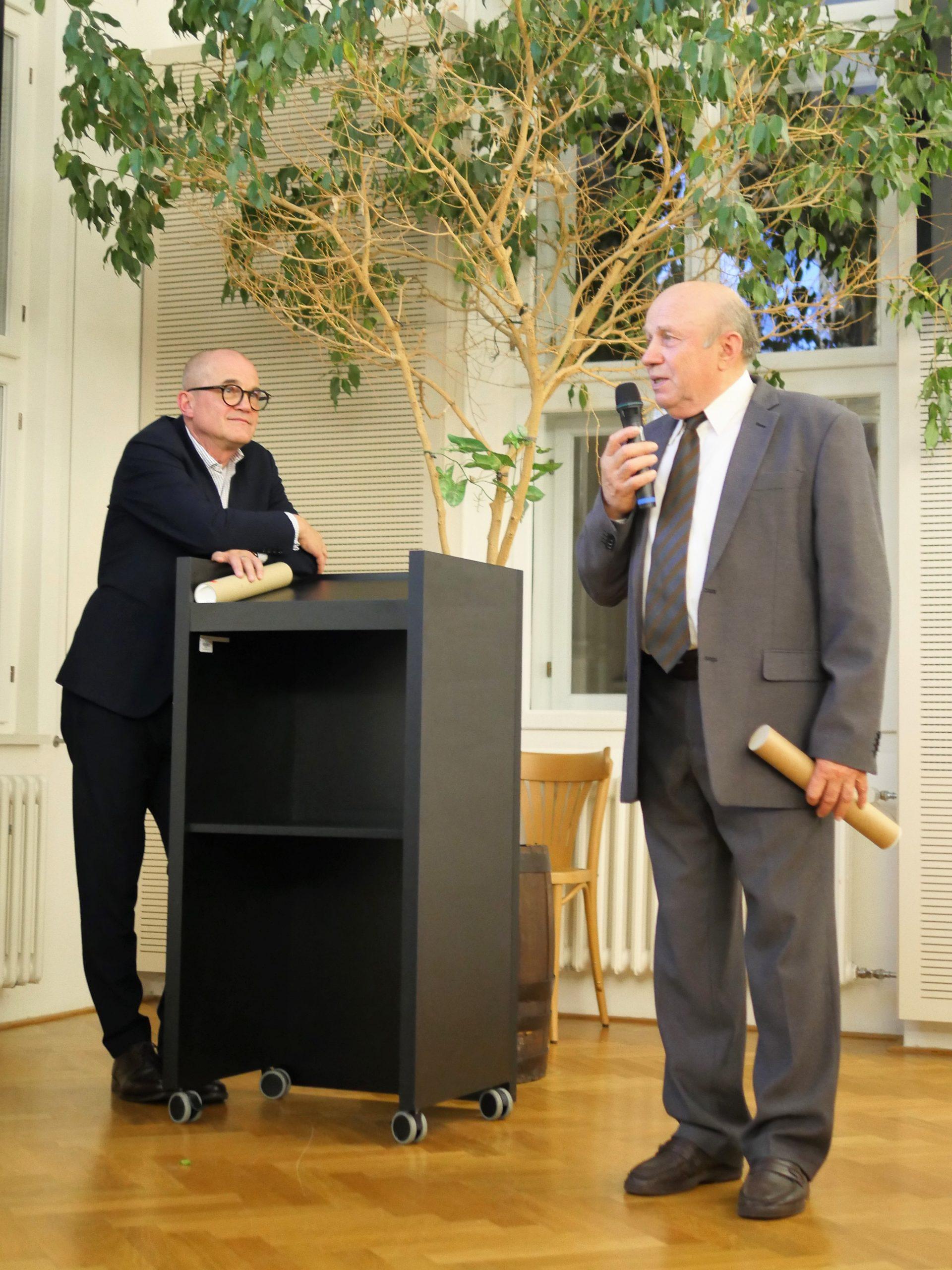 Slavnostní předání Ceny Rudolfa Eitelbergera