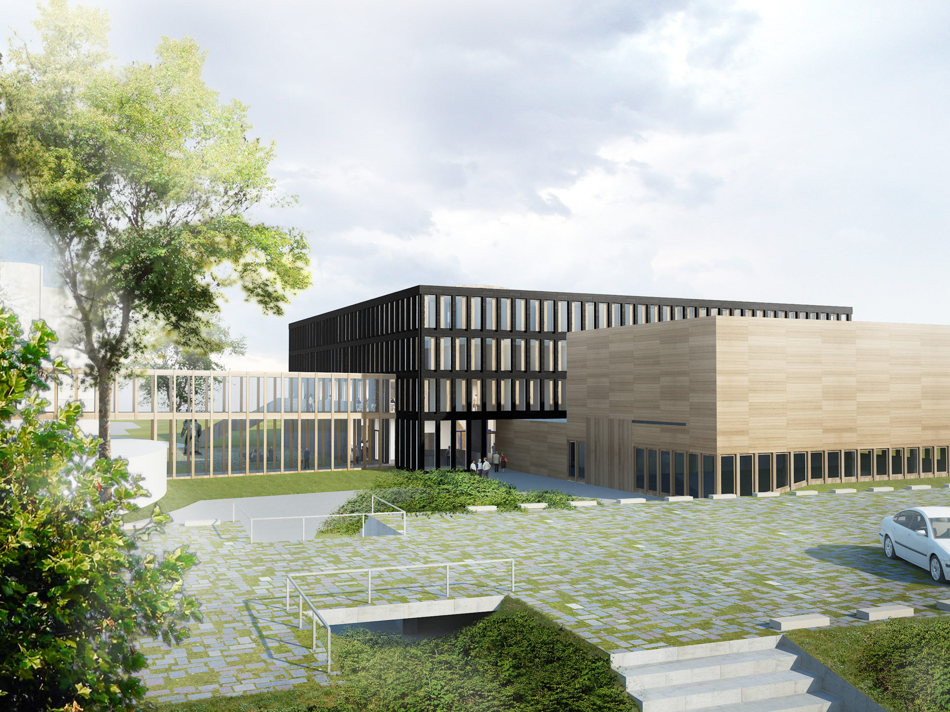 Ředitelství ESO, Garching, Německo