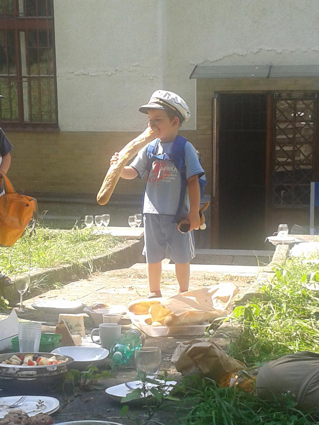 Piknik na zahradě