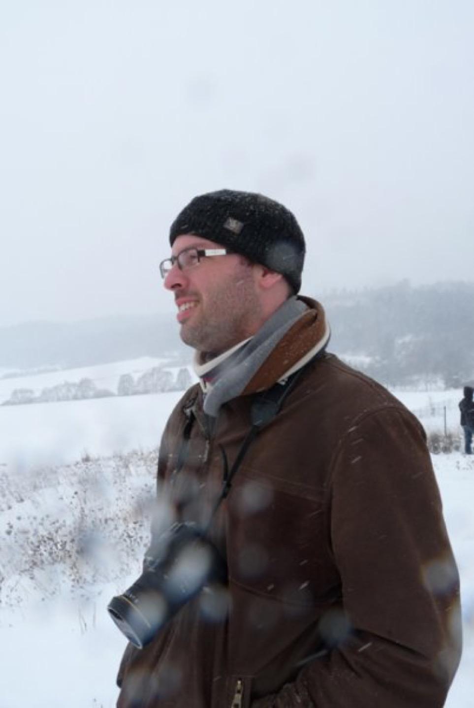 Oči sněhem zaváté