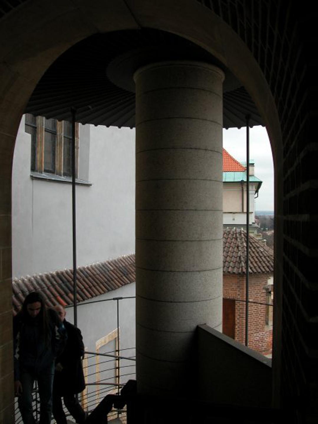 Nejkrásnější točité schodiště světa dle Borise Podreccy