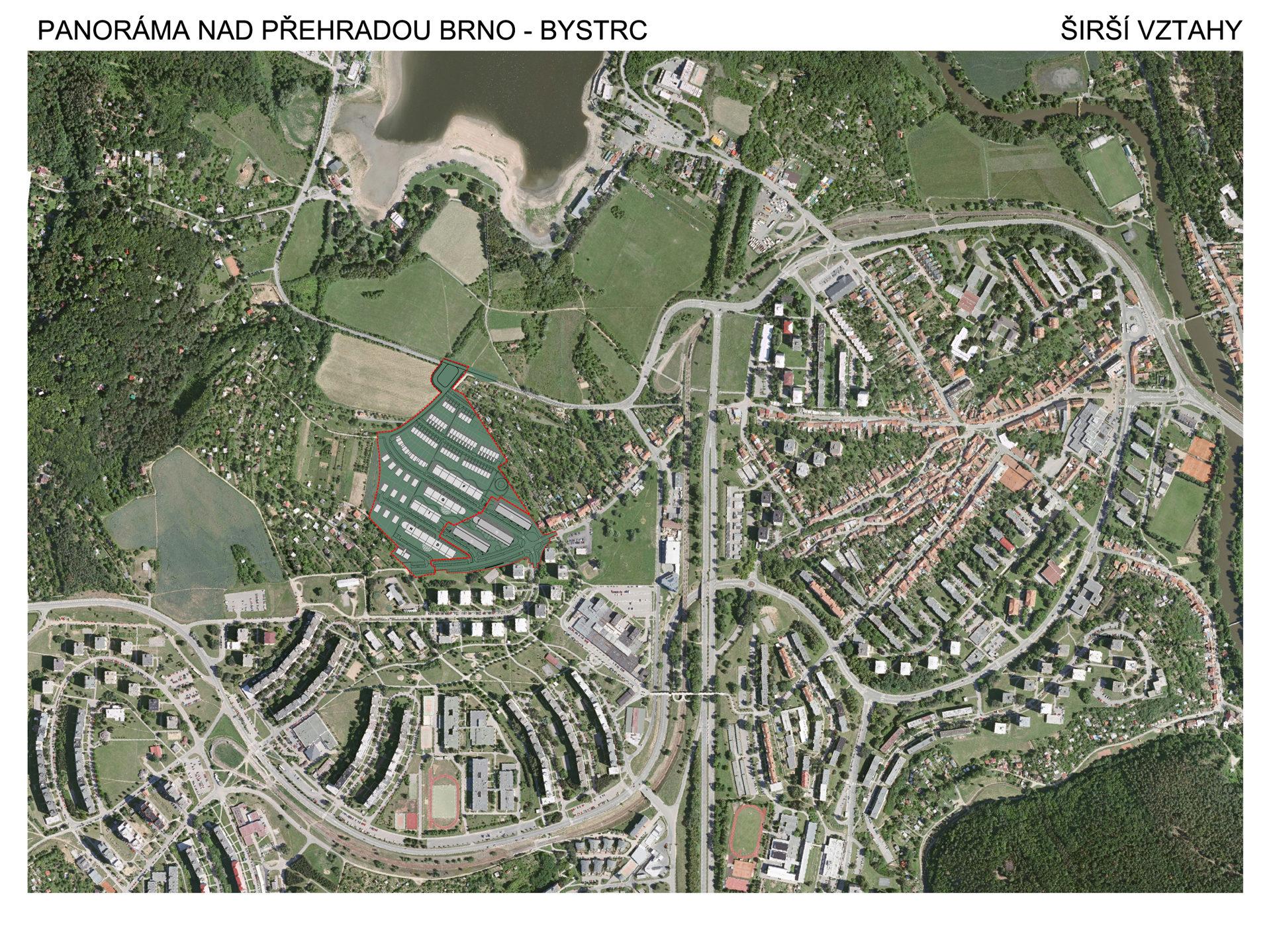 Obytný soubor Panorama, Brno, urbanismus