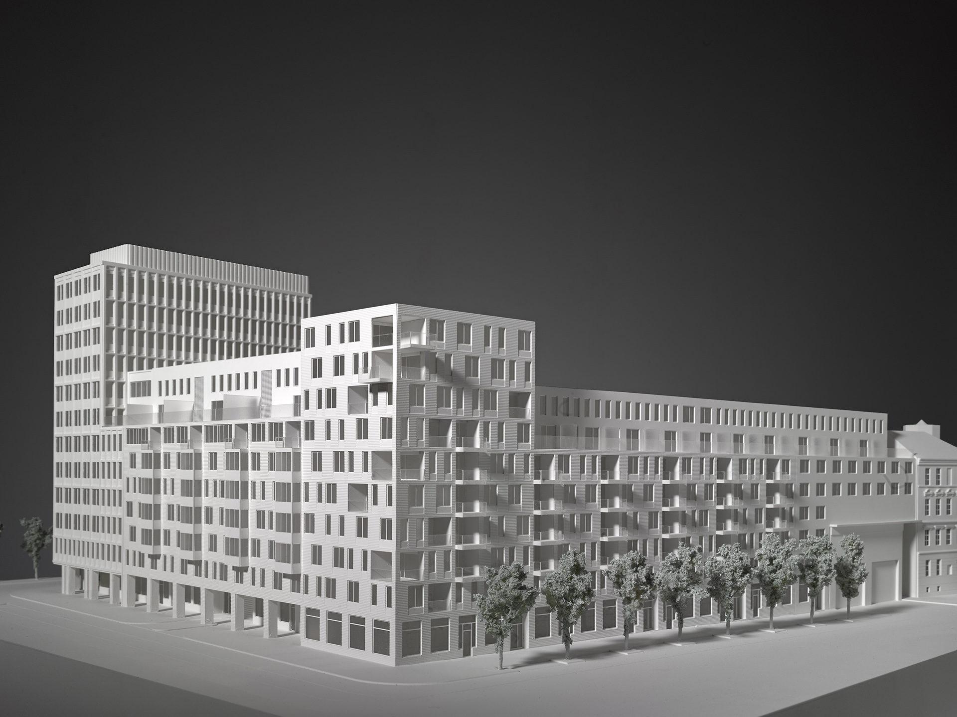 Metropolitan Block Trnitá, Brno