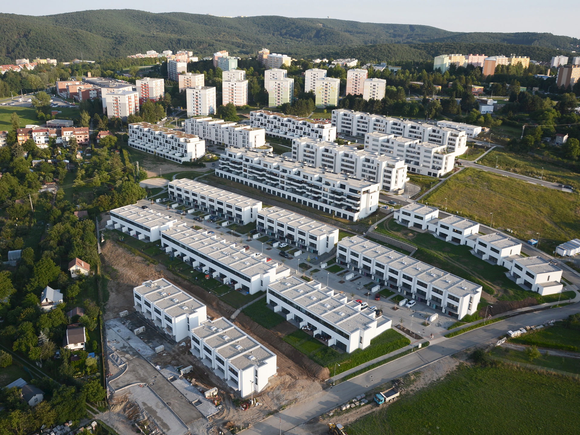 Housing Units Panorama, Brno