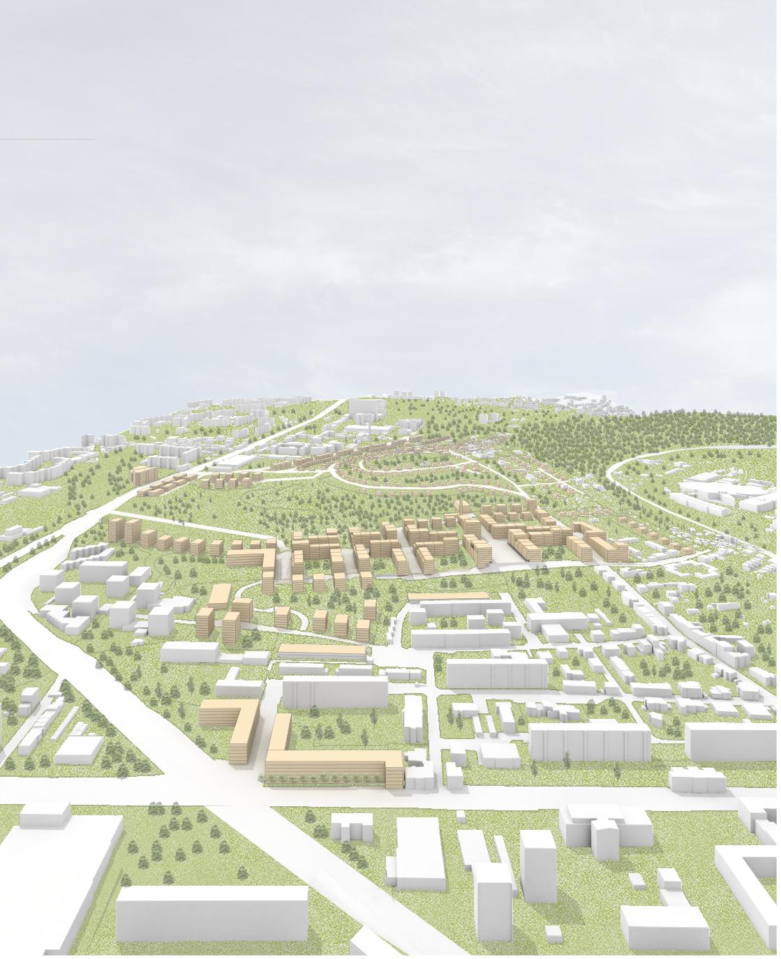 Územní studie Červený kopec, Brno