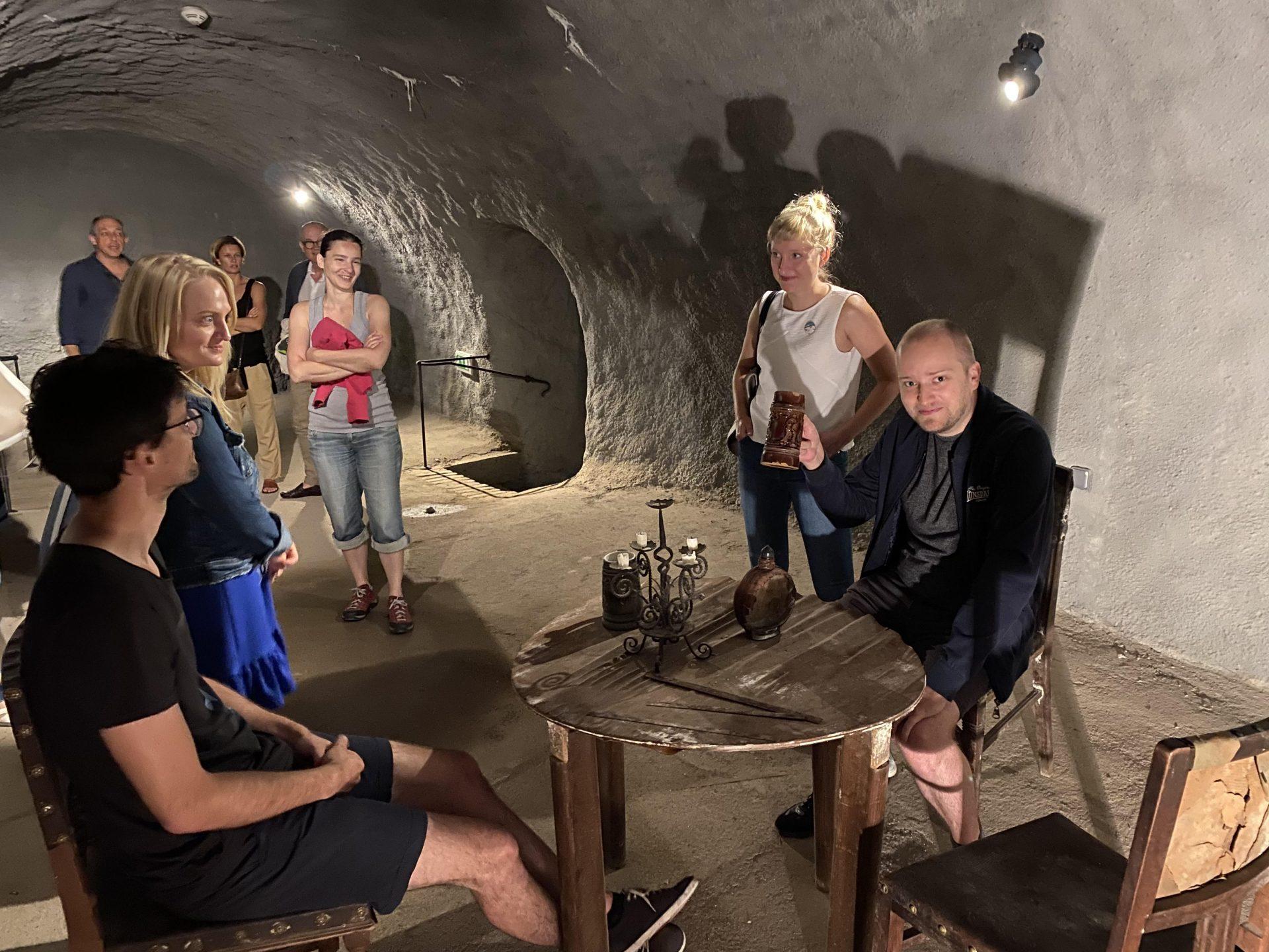 Návštěva Labyrintu pod Zelným trhem
