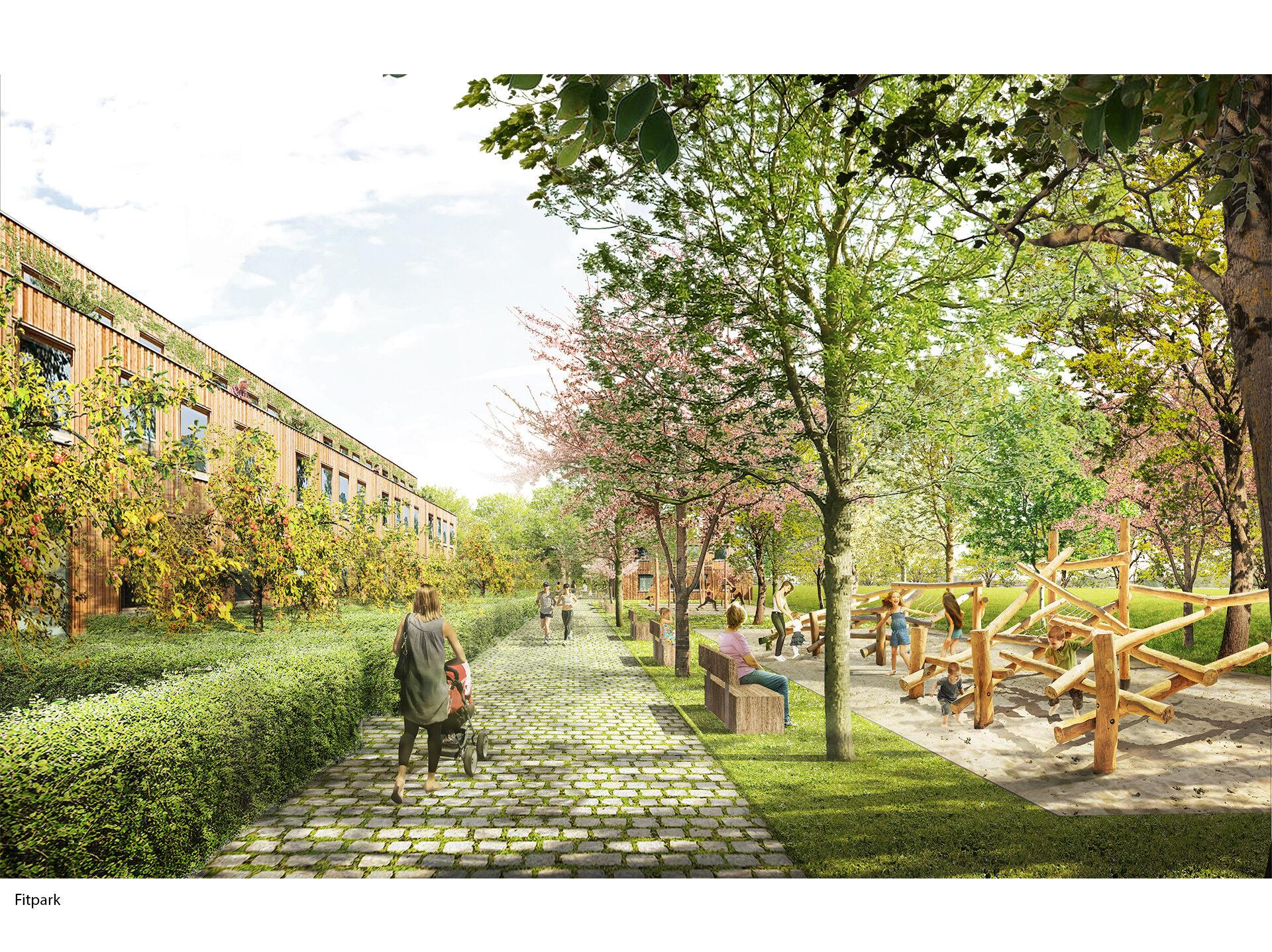 Udržitelná čtvrť Chytré Líchy, Židlochovice