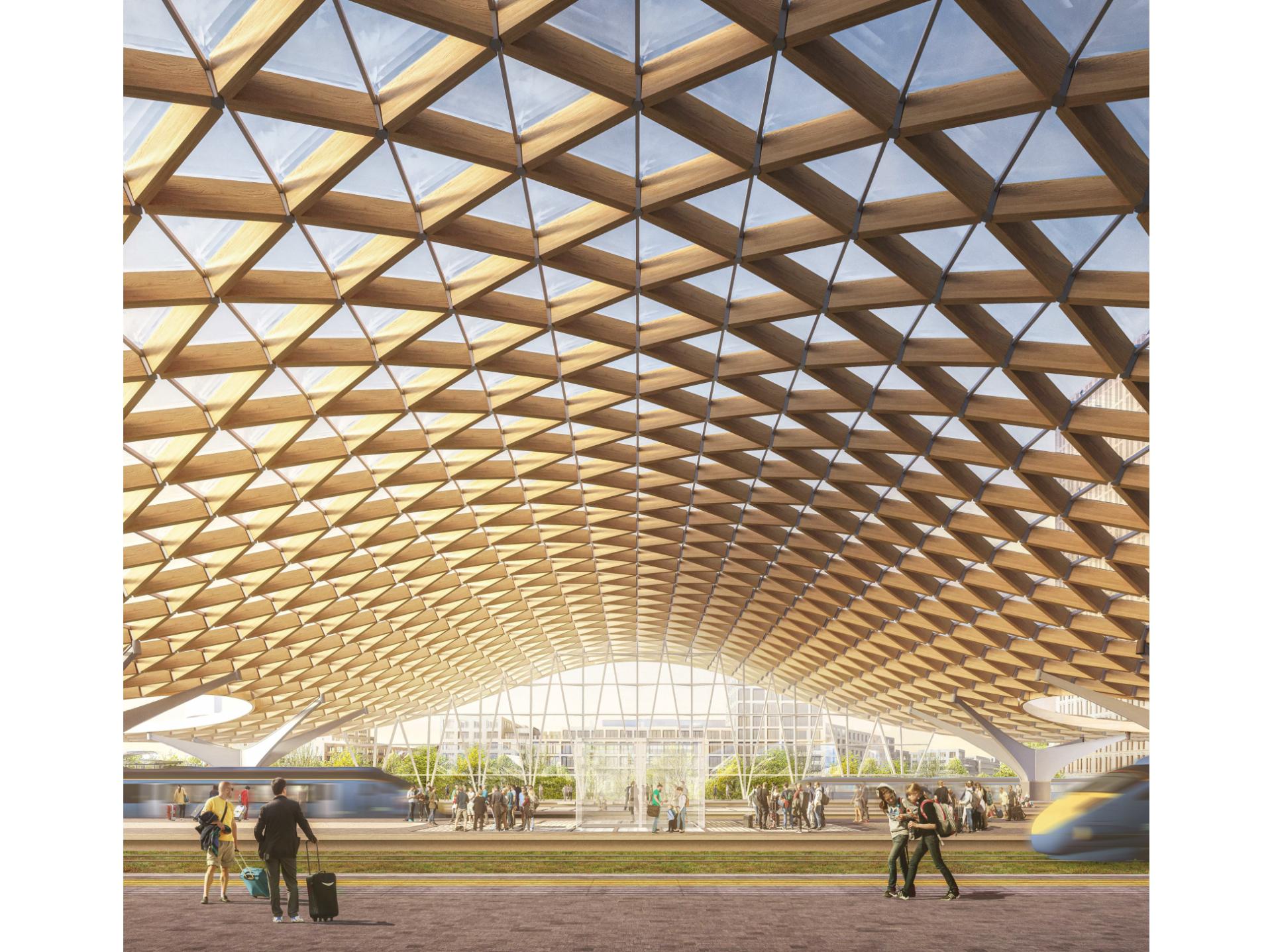 Brno New Main Train Station